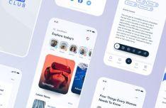 Blog UI Kit For Figma