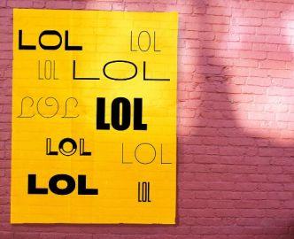 Poster Wall PSD Mockup