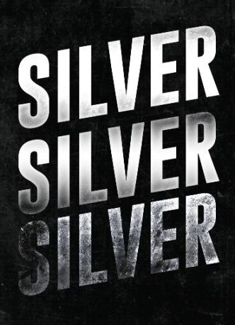 Silver Text Effect Photoshop