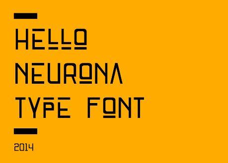 Neurona Typeface