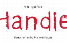 Handie Handcrafted Typeface