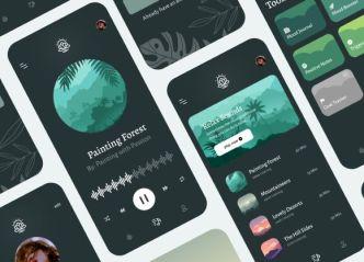 Medic Meditation App Freebie For iOS (Figma)