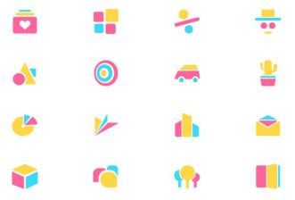 Abstract Geometric Icons Figma