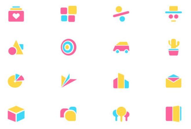 Abstract Geometric Icons Figma