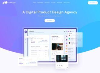 Digital Agency Landing Page Template