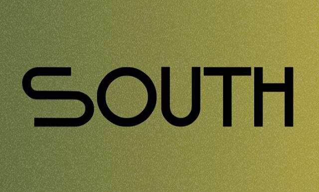 South Display Font