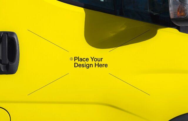 Car Sticker PSD
