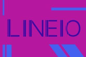 Lineio Uppercase Font