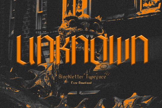 Unknown Black Letter Typeface