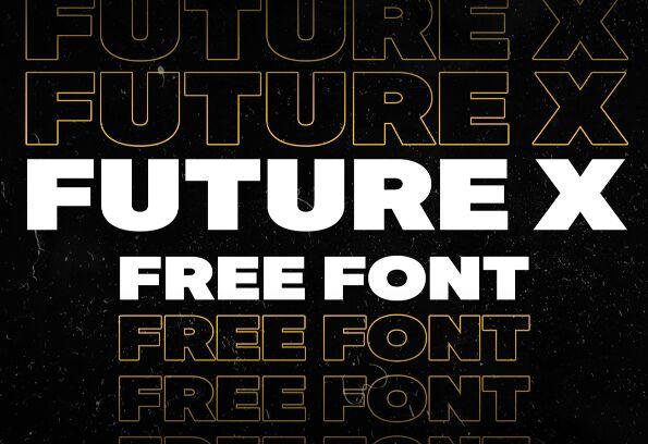 Future X Font