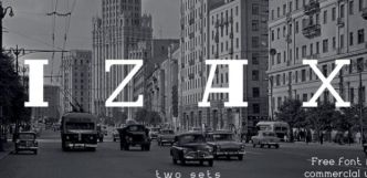 IZAX Serif Font