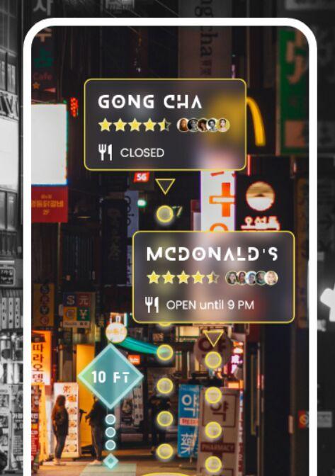 Futuristic Augmented Reality (AR) UI Kit Adobe XD