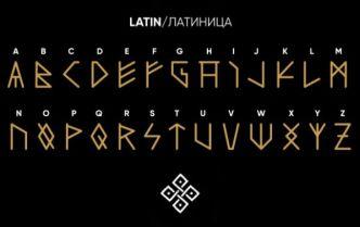 RURIK Viking Font