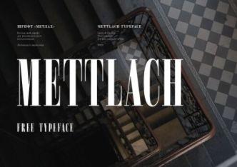 Mettlach Typeface