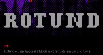 ROTUND Display Font