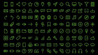 120 Stroke Icons (EPS, FIGMA, SVG)