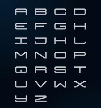 Futuria Vector Alphabet
