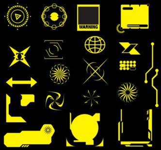 21 Vector Shapes & Decorations