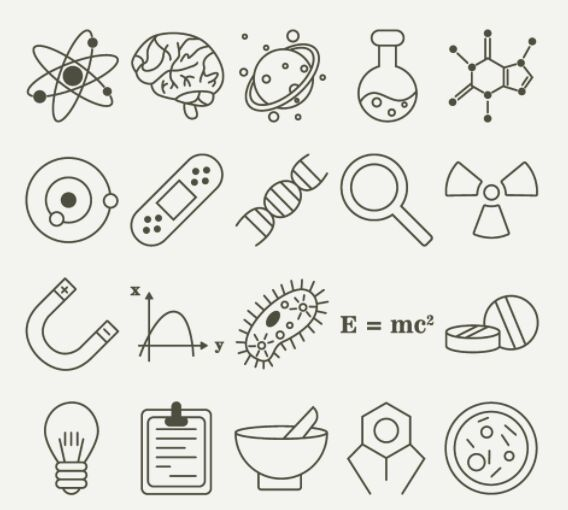 35 Science Vector Icons