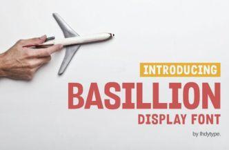 Basillion Display Font