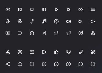 1500+ Icons In 5 Styles