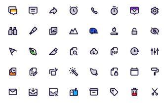 120 Beautiful Figma Icons
