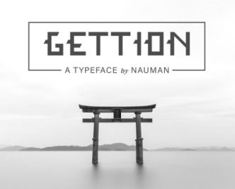 GETTION Display Font