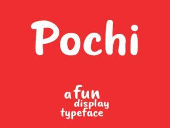 Pochi Funny Font