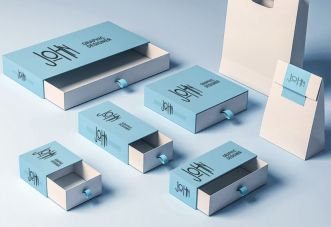 Realistic Product Packaging Box Collection
