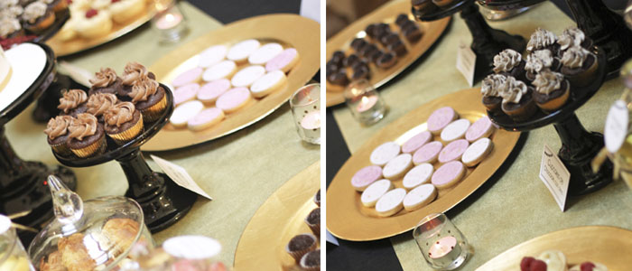 Mesa de dulce para Bodas - E&J