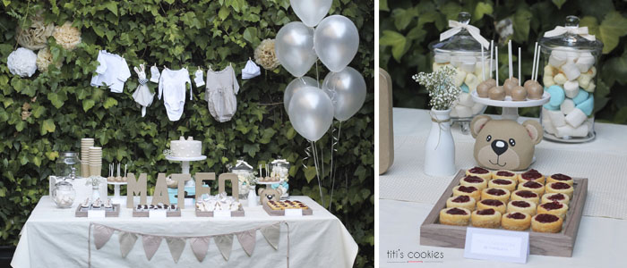 Mesa de Dulce Baby Shower