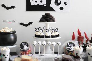Mesa de dulces Halloween - Fantasma