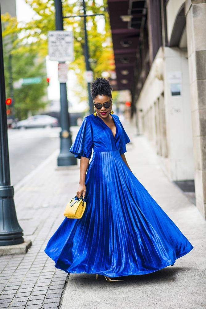 Holiday Party Fashion: Maxi Dress