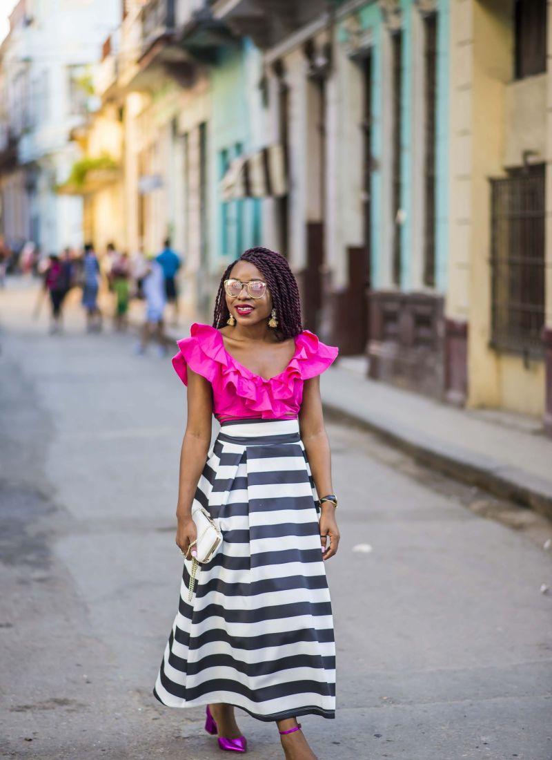 Street Style in Havana, Cuba