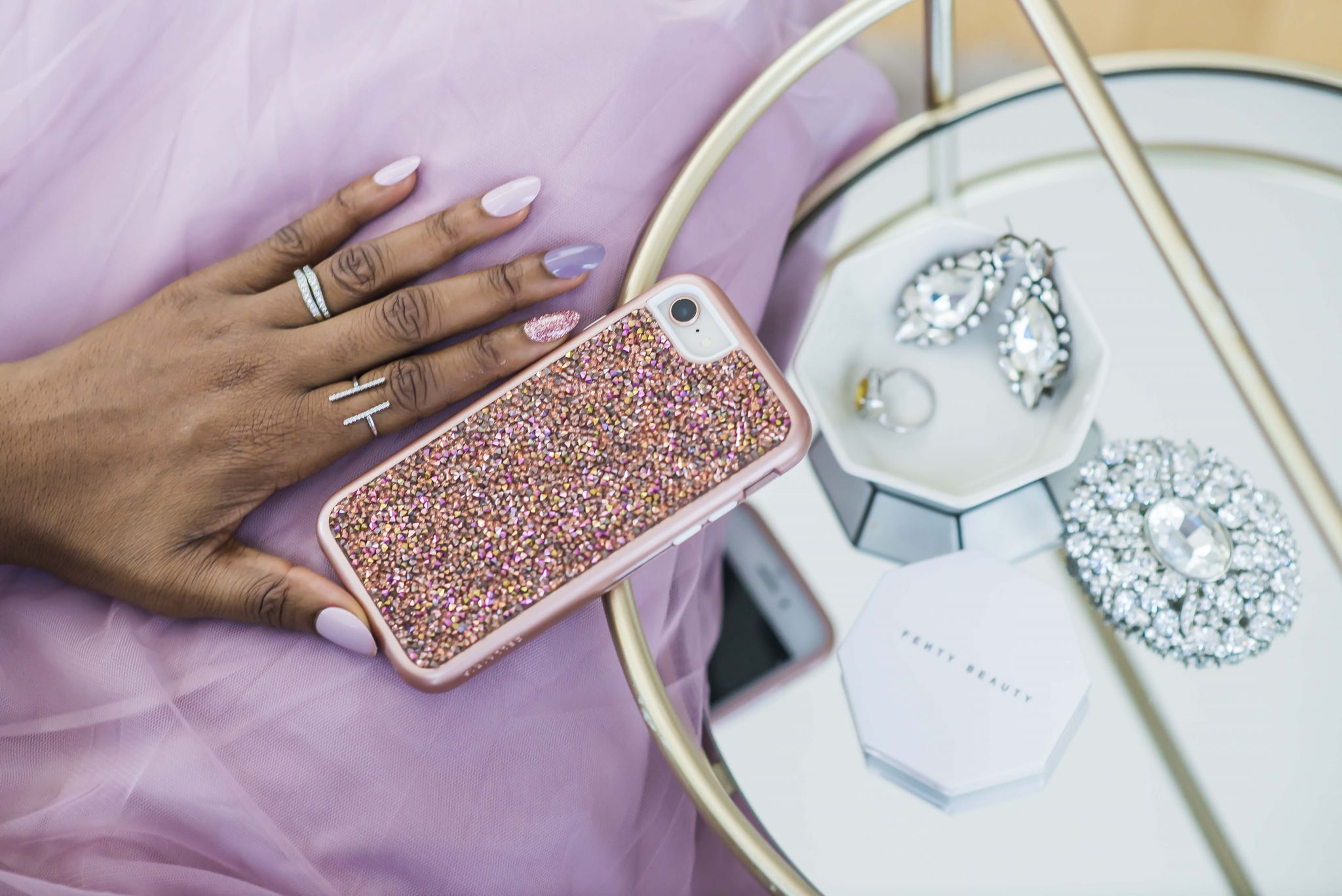 ROCK CANDY ROSE phone case