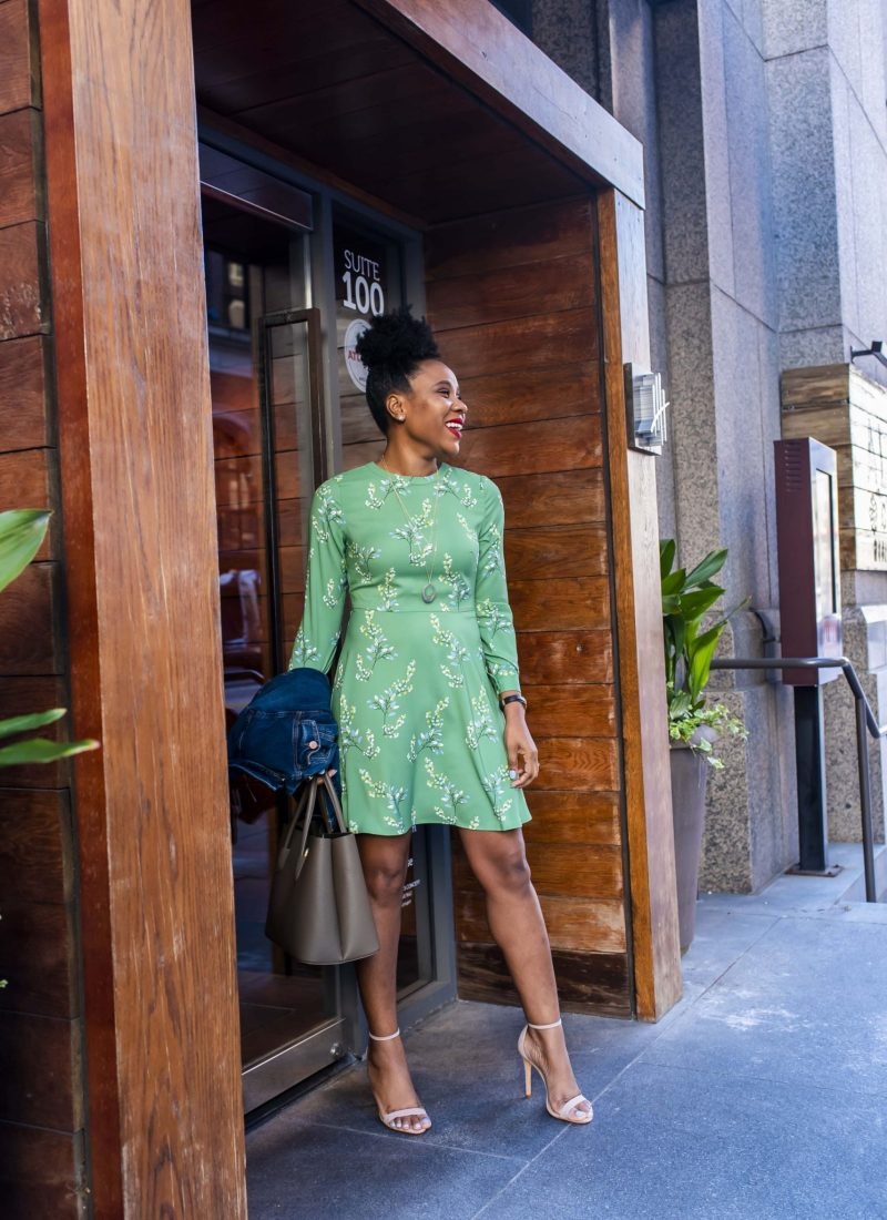 GREEN: SPRING COLOR TREND WITH LOFT