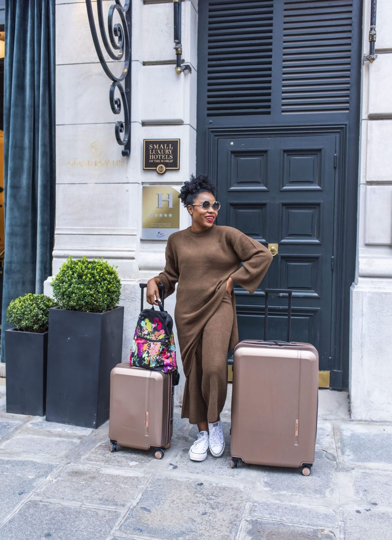 5 tips to packing like a pro featuring my Samsonite Novaire Spinner