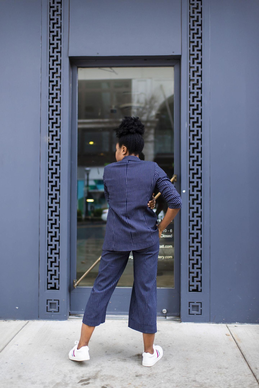 Scoop Flare Cropped Dress Pants Women's