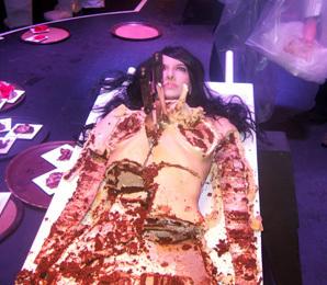 Marina Abromovic cake