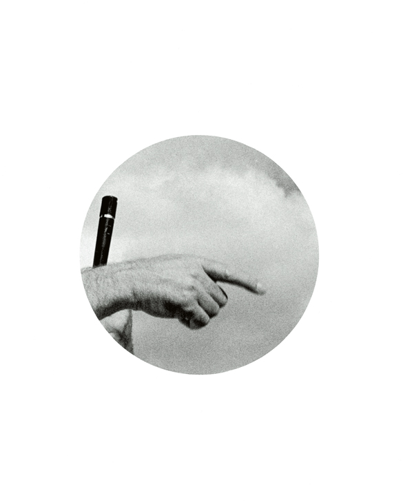(Untitled) Hand with Microphone