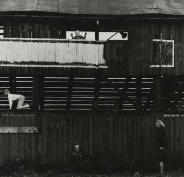 """Untitled,"" ca. 1964. © The Estate of Ralph Eugene Meatyard, Courtesy Fraenkel Gallery, San Francisco."