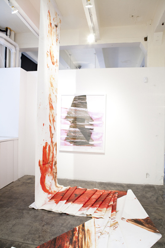 installation shot, Uncut, 2011