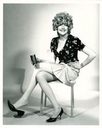 Martha Wilson A Portfolio of Models 1974 seven black-and-white photographs, text