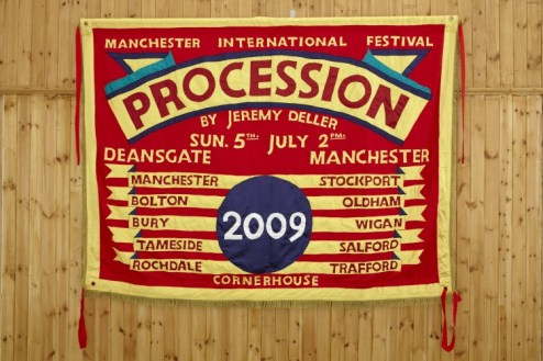 Banner from Procession, 2009