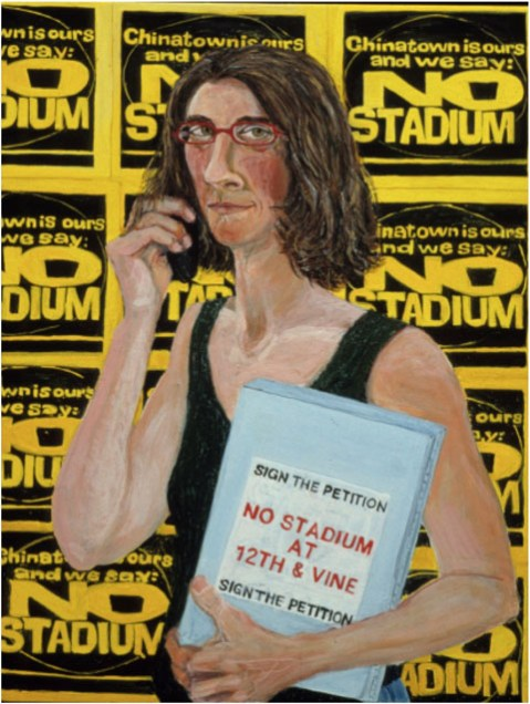Sarah McEneaney, No Stadium 2000