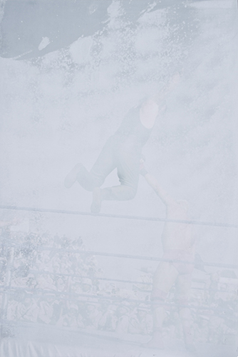 Untitled Drone Silkscreen & Archival Photograph on Aluminum, 16x24 2013
