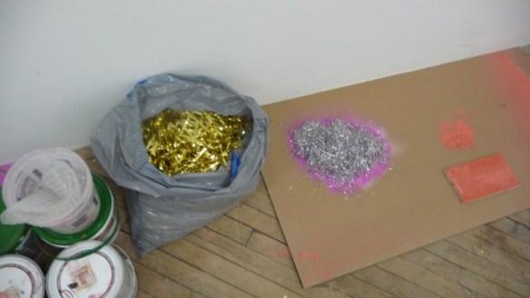 Linda Yun's studio
