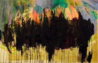 Dark Cloud David Neisser Acrylic and ink 2013