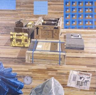 Eleven A.M., 1991–92 Oil on canvas Smithsonian American Art Museum, Washington, DC