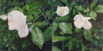 Rose, 2010-11 Oil on two canvases